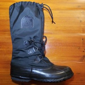 Sorel Snowlion Tall Insulated Duck Boots